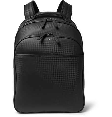 Extreme Leather Backpack - Black