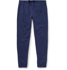 Handvaerk - Slim-Fit Tapered Pima Cotton Pyjama Trousers