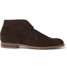 Edward Green Shanklin Suede Chukka Boots