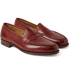 Edward Green - Duke Leather Penny Loafers