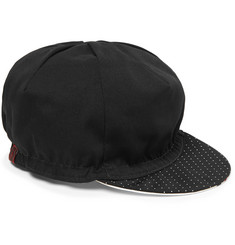 Cafe du Cycliste - Pin-Dot Print Twill Cycling Cap