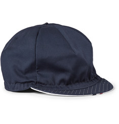 Cafe du Cycliste Pin-Dot Print Twill Cycling Cap