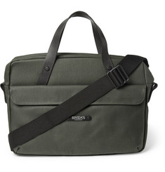 Brooks England Lexington Coated Canvas Briefcase