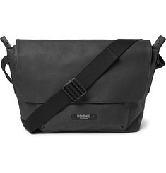Brooks England Crosby Coated Cotton-Canvas Satchel