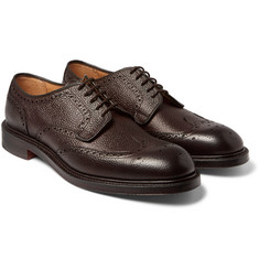 Cheaney - Bexhill Pebble-Grain Leather Brogues