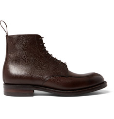 Cheaney Richmond Pebble-Grain Leather Boots