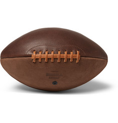 Shinola - Two-Tone Leather American Football