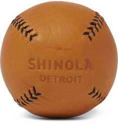 Shinola - Leather Baseball