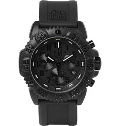 Luminox Navy SEAL Colormark 3081.BO Series Carbon-Reinforced and Rubber Chronograph Watch
