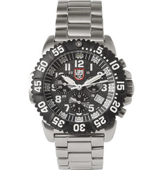 Luminox Colourmark 3182 Stainless Steel Chronograph Watch