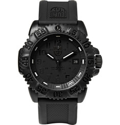 Luminox - Colourmark 3051 Carbon-Reinforced Stainless Steel and Rubber Watch