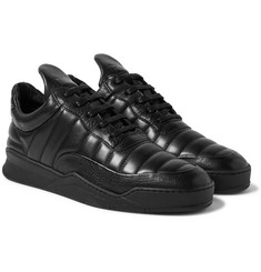 Filling Pieces - Low Top Fuse Quilted Leather Sneakers