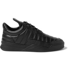 Filling Pieces Low Top Fuse Quilted Leather Sneakers