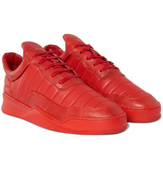 Filling Pieces - Low Top Fuse Leather Sneakers