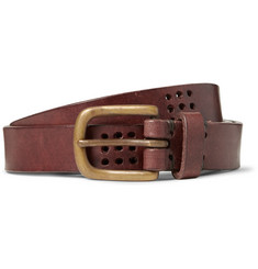 Oliver Spencer 2.5cm Brown Leather Belt