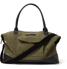 Oliver Spencer - Leather-Trimmed Suede Holdall