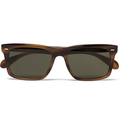 Oliver Peoples Brodsky Square-Frame Acetate Polarised Sunglasses