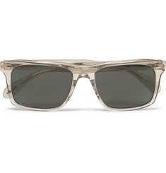 Oliver Peoples - Brodsky Square-Frame Acetate Polarised Sunglasses