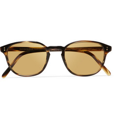 Oliver Peoples Fairmont Round-Frame Acetate Sunglasses