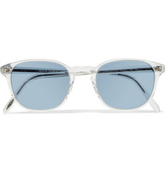 Oliver Peoples - Fairmont Round-Frame Acetate Sunglasses