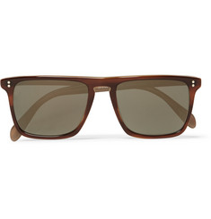 Oliver Peoples Bernardo Square-Frame Acetate Sunglasses