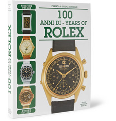 Mondani 100 Years of Rolex: Deluxe Edition Hardcover Book