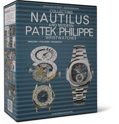 Mondani Collecting Nautilus and Modern Patek Philippe Wristwatches Set of Three Hardcover Books