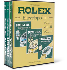 Mondani - Set of Three Hardcover Books: Rolex Encyclopedia