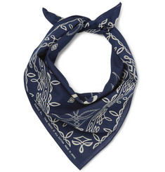 RRL Printed Washed-Cotton Bandana