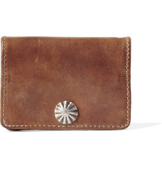 RRL - Concha Hand-Burnished Leather Coin Wallet