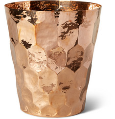 Tom Dixon Hex Hammered-Copper Champagne Bucket