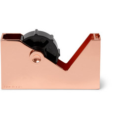 Tom Dixon Cube Copper-Plated Tape Dispenser