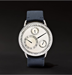 Ressence - Type 1 G Titanium and Leather Watch