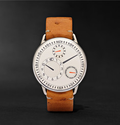 Ressence Type 1 W 40mm Titanium and Ostrich Watch
