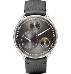 Ressence Type 1 R Titanium and Leather Watch