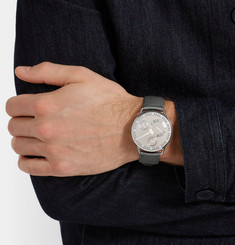 Ressence - Type 1 CH Titanium and Leather Watch