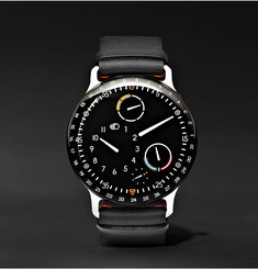 Ressence - Type 3 Titanium and Leather Watch