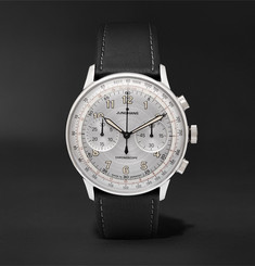 Junghans Meister Telemeter Chronoscope 40mm Stainless Steel and Leather Watch