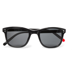 Oliver Spencer Spencer Square-Frame Acetate Sunglasses