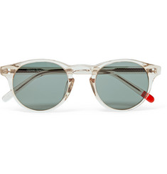 Oliver Spencer - Sid Round-Frame Acetate Sunglasses