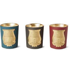 Cire Trudon - Odeurs d'Hiver Scented Candle Set