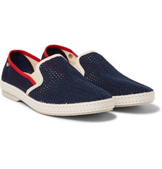 Rivieras - Cotton Mesh Slip-On Shoes