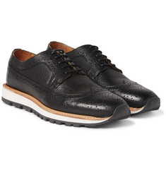 Armando Cabral - Alfama Grained-Leather Wingtip Brogues