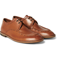 Armando Cabral - Leonard Stitch-Detailed Leather Derby Shoes