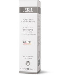 Ren Skincare Flash Rinse 1-Minute Facial, 75ml