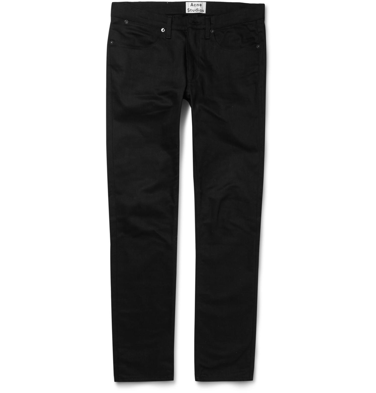 Acne Studios - Max Slim-Fit Overdyed Denim Jeans