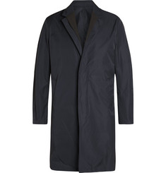 Wooyoungmi - Faille-Trimmed Twill Trench Coat
