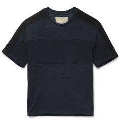 Wooyoungmi Colour-Block Cotton T-Shirt