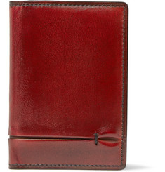 Berluti Burnished-Leather Cardholder