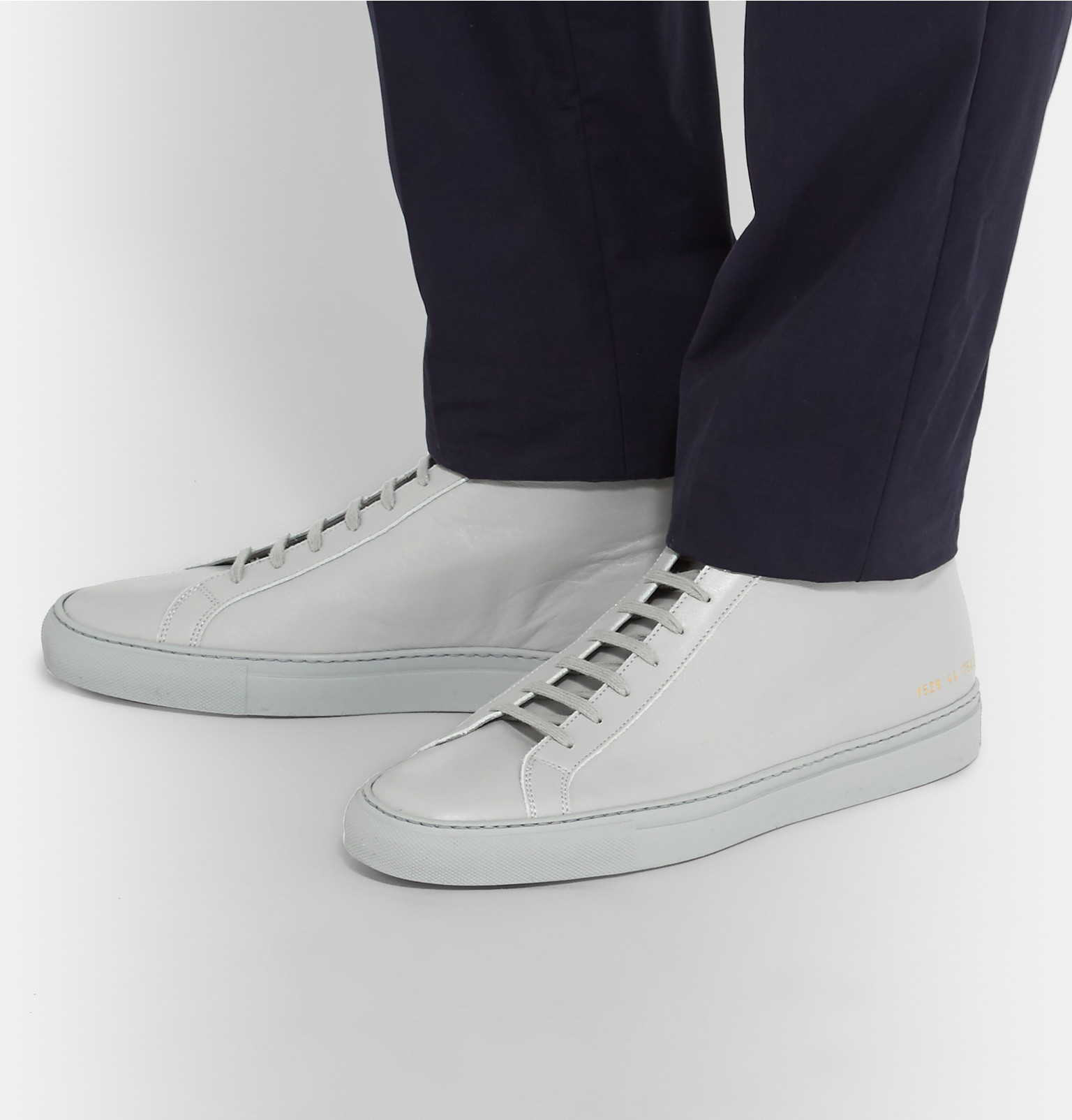 84775d54ec1 Common Projects - Original Achilles Leather High-Top Sneakers